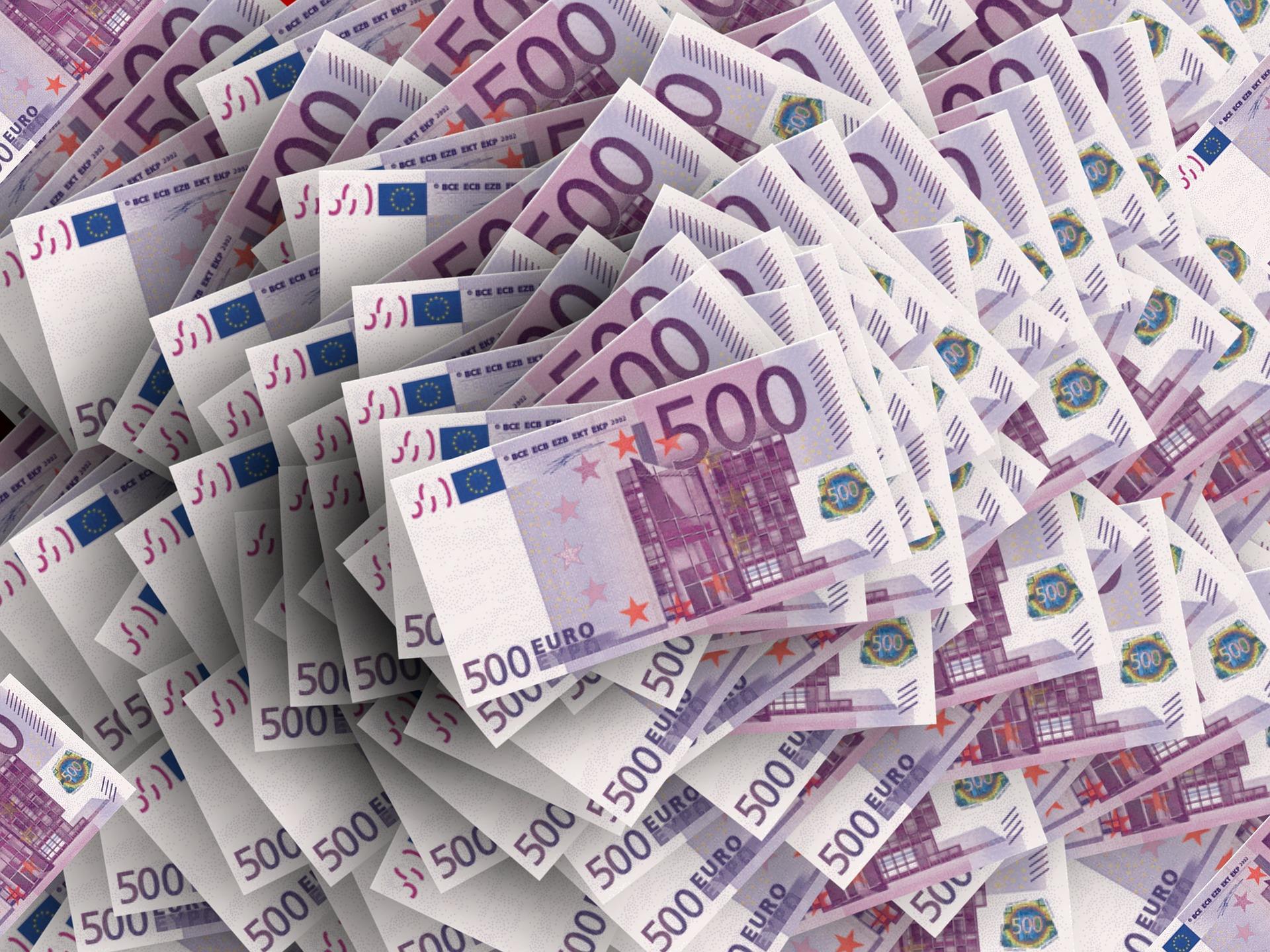 euro - Sportsturneringer med de største præmiesummer